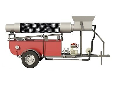 Build your own 9' Trommel on trailer (DIY Plans) Fun to build!!