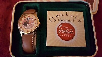 Rare Time for a coke Coca Cola vintage watch