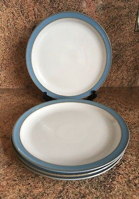 Denby Colonial Blue Salad Plate.4 Available