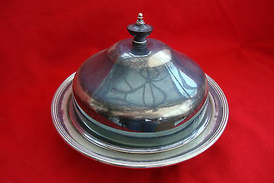 A Vintage Sheffield Silver Plated Epns Stylish Table Muffin / Serving Dish