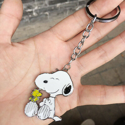 Snoopy keychain Key ring Pendant Cosplay Collection 4cm