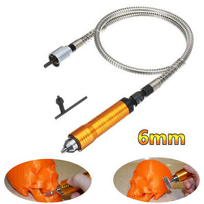 AU Rotary Grinder Tool 6mm Flexible Flex Shaft Fits For Electric Drill Rotary