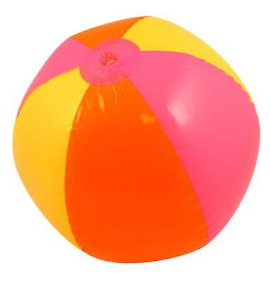 Children Inflatable Beach Ball 50 cm Blow Up Kids Toy Fancy Party Accessory