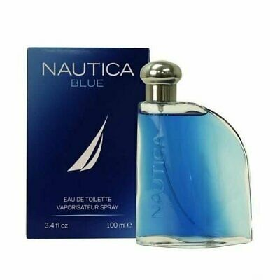 NAUTICA BLUE 3.4 oz EDT eau de toilette Men's Spray Cologne Spray New NIB 100 ml