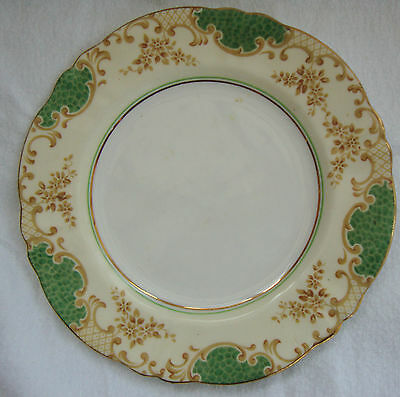 A Stunning Antique Vintage Crown Staffordshire Side Plate -  F14757