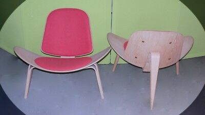 Carl Hansen & Son CH07 Shell Chair by Hans J. Wegner Loungesessel Stuhl sl0008
