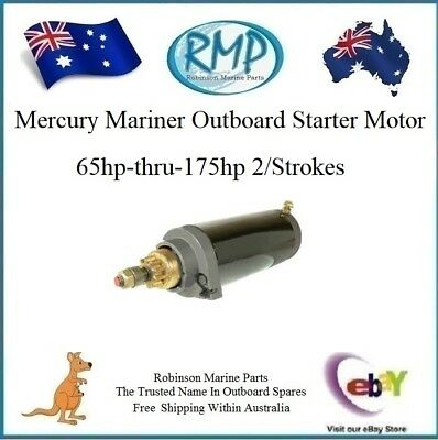 A Brand New Mercury Mariner USA Outboard Starter Motor 65hp-175hp # R 50-64975