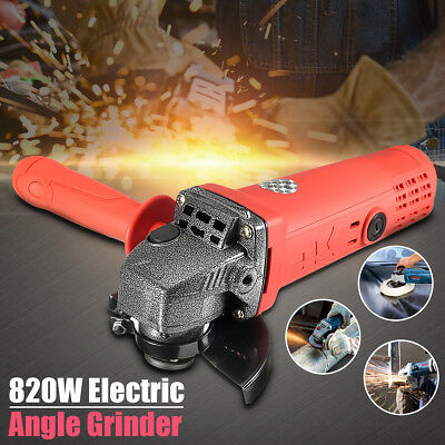 220V 820W Angle Grinder Electric Metal Grinding Cutting Tool FAST Post BABAN