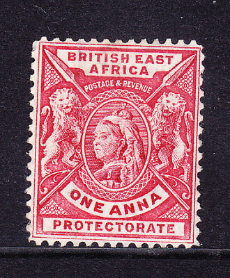 KUT British East Africa QV 1896 SG66a 1a bright rose-red - mint no gum. Cat £16