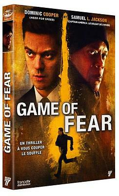 DVD  //  GAME OF FEAR  //  Dominic Cooper - Samuel Lee Jackson / NEUF cellophané
