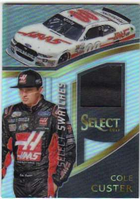 2017 Panini Select Racing Swatches Firesuit Relic #9 Cole Custer