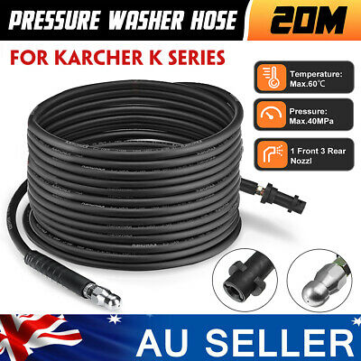 20M 5800PSI/40Mpa High Pressure Drain Sewer Cleaning Hose For Karcher K Series