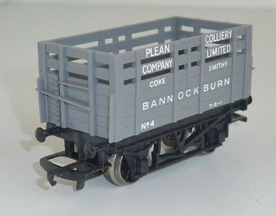 Hornby Railways R101 Plean Collery Coke Waggon BANNOCKBURN #4 OVP Spur 00/H0