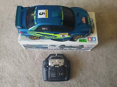 Tamiya Subaru Impreza TL01 RC Car 1/10th Scale Electric Burns Reid Futaba