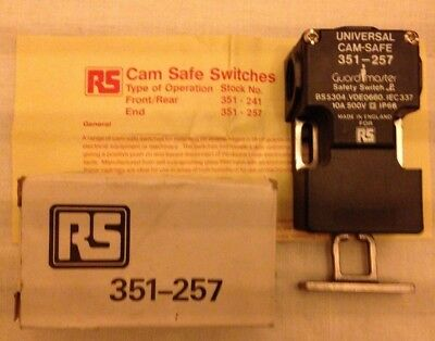 Guardmaster RS Universal Cam-safe Safety Guard Switch 351-257 End Operation