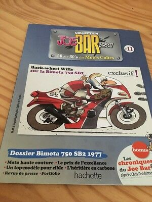 Joe Bar Team n° 11  collection moto revue magazine 50's 80's les motos cultes