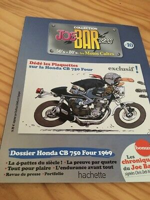 Joe Bar Team n° 10  collection moto revue magazine 50's 80's les motos cultes
