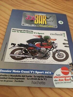 Joe Bar Team n° 8  collection moto revue magazine 50's 80's les motos cultes