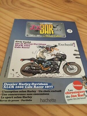 Joe Bar Team n° 7 collection moto revue magazine 50's 80's les motos cultes