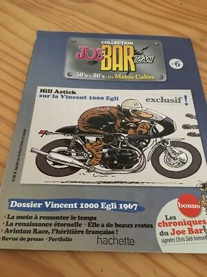 Joe Bar Team n° 6  collection moto revue magazine 50's 80's les motos cultes