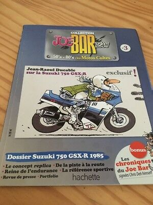Joe Bar Team n° 3  collection moto revue magazine 50's 80's les motos cultes