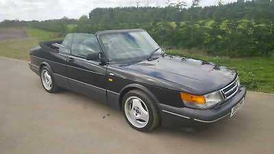 Saab 900 2.0 Turbo 16v S Convertible 100K Recomissioned (HOOD, ENGINE, GEARBOX)