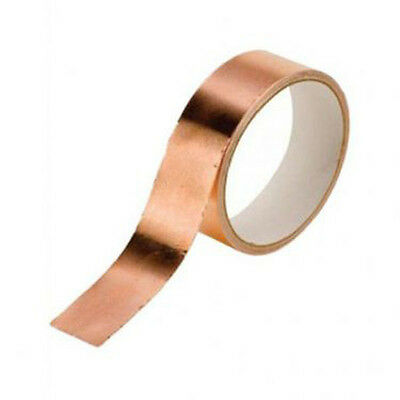 Guitar Pickup Copper Foil 30mm x 4m  Shielding Screening Tape Adhesive 99p x2 r