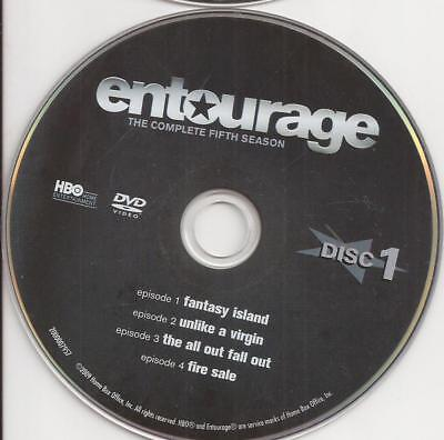 Entourage HBO (DVD) Season 5 Disc 1 Replacement Disc U.S. Issue Disc Only