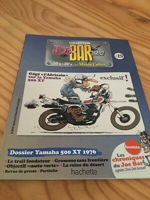 Joe Bar Team n° 19  collection moto revue magazine 50's 80's les motos cultes