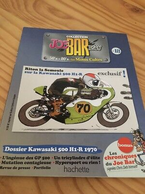 Joe Bar Team n° 18  collection moto revue magazine 50's 80's les motos cultes