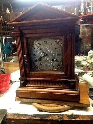 Lovely Ting Tang Mb Bracket Clock - Excellent Condition