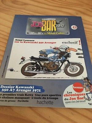 Joe Bar Team n° 13  collection moto revue magazine 50's 80's les motos cultes