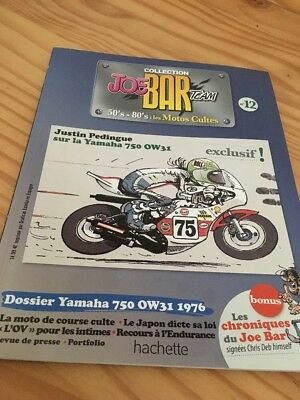 Joe Bar Team n° 12 collection moto revue magazine 50's 80's les motos cultes