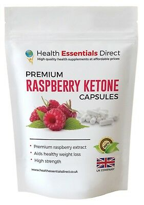 Raspberry Ketone Capsules 1000mg Highest Strength (Slimming, Weight Loss)