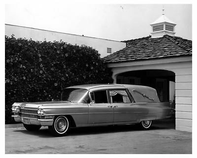1964 Cadillac Hearse Factory Photo uc3425-QN3PZE
