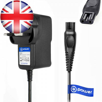 T-Power Ac Adpater Rapid Charger (5ft) for Philips Norelco Multigroom Pro...