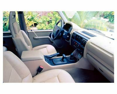 1994 Land Rover Discovery Interior Factory Photo uc5087