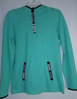 Justice girl's dance hoodie size 18