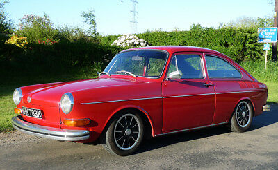 VW FASTBACK 1971 - GENUINE IBERIAN RED (ONLY MADE FOR 2 YEARS) - 1600cc STUNNING