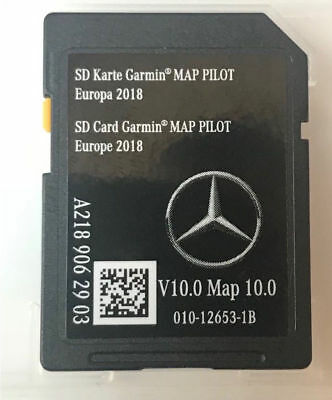 Carte SD MERCEDES GARMIN MAP PILOT Europe 2018 V10 - Star1 - A2189062903