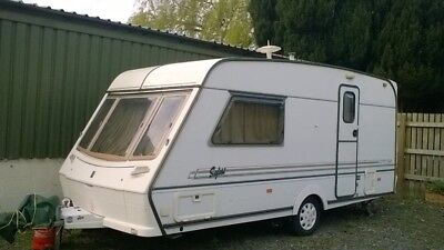 caravan Safari 470 S with motor move
