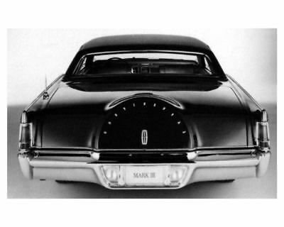 1968 Lincoln Continental MK III Factory Photo uc7504