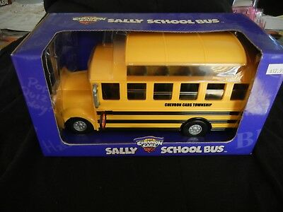 Sally School Bus Chevron Collectable Car with Removeable Roof NIB