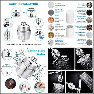 Best 12-Stage Universal Shower Filter Water Purifier Hard Water Softener with