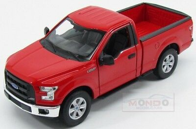 Ford Usa F-150 Regular Cab Pick-Up 2015 Red Welly 1:24 WE24063R