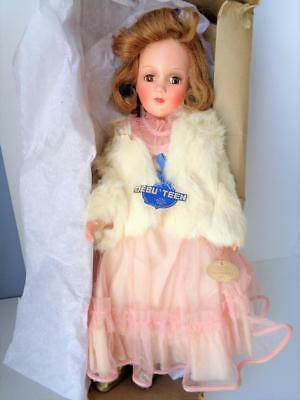 """17"""" Arranbee Debuteen Princess Betty Rose Doll #3790 R&B Composition w/Tags Box"""