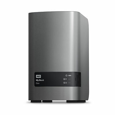 WD My Book Duo 4TB Manufacturer Refurbished External Hard Drive by Western Di...