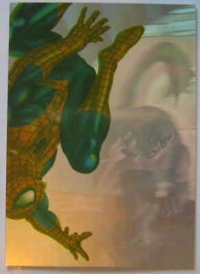 1995 Fleer Ultra Spider-Man Holoblast card #3 of 6 (Excellent Condition)