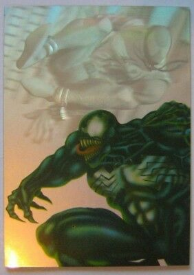 1995 Fleer Ultra Spider-Man Holoblast card #6 of 6 (Excellent Condition)