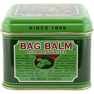 Bag Balm Tin Body Treatment, Skin Moisturizer 4 oz Tin
